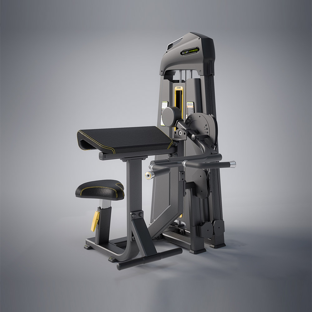 Biceps / Triceps Fitness Equipments / Gym Strength Machines
