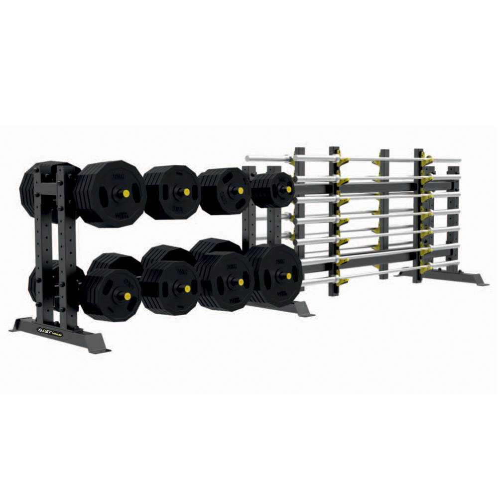 Multi Rack Fitness Equipments / Gym Strength Machines