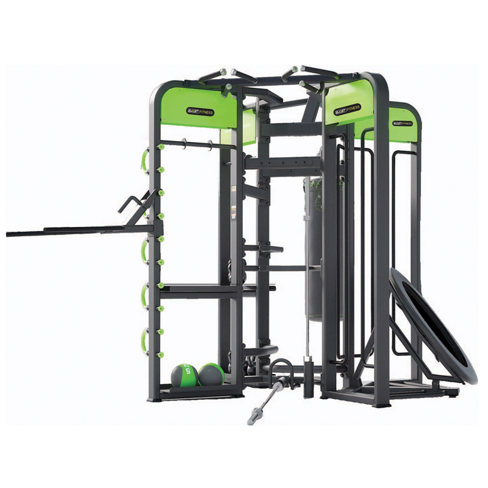 Multi Functional Trainer Fitness Equipments / Gym Strength Machines