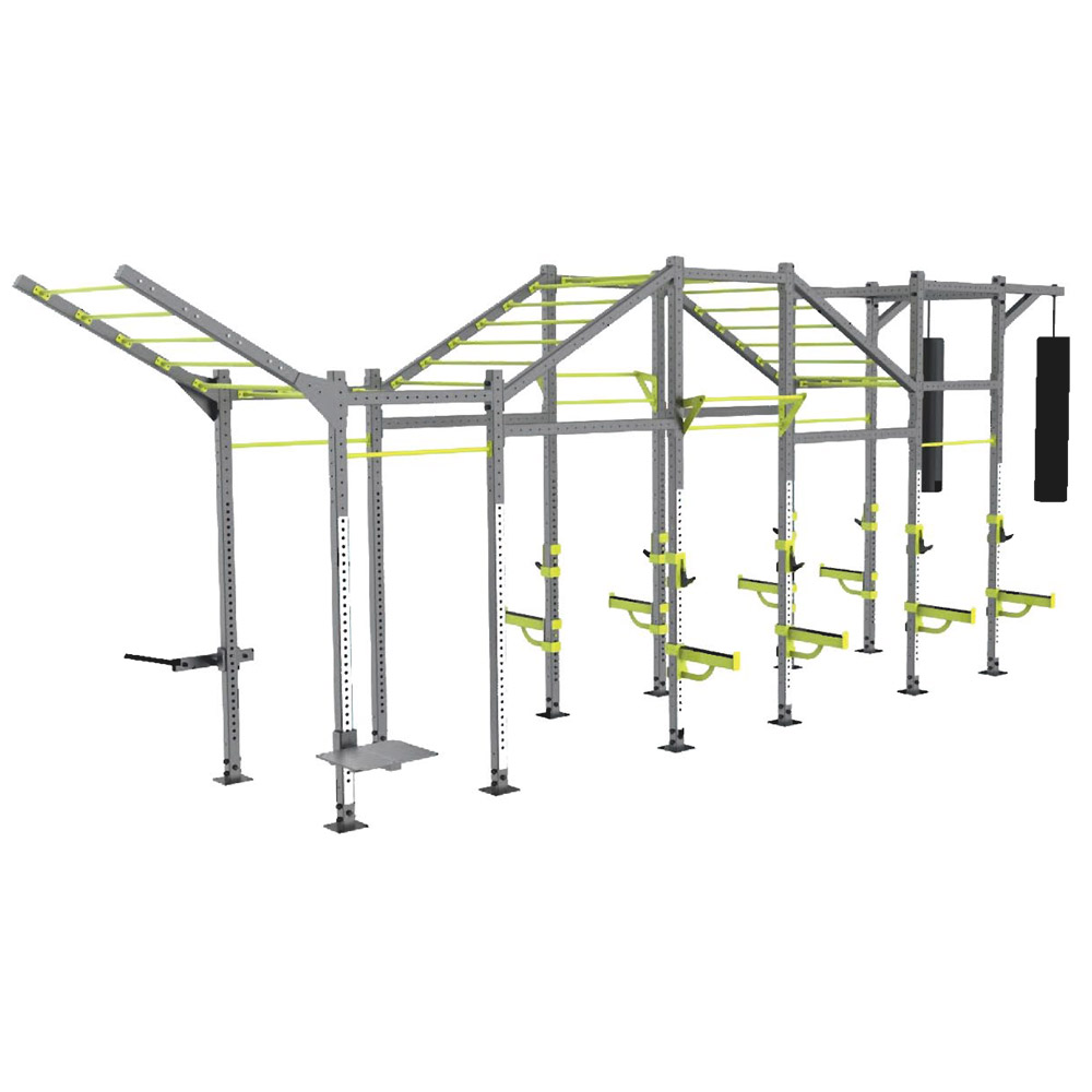 Angled Bridge Fitness Equipments / Gym Strength Machines