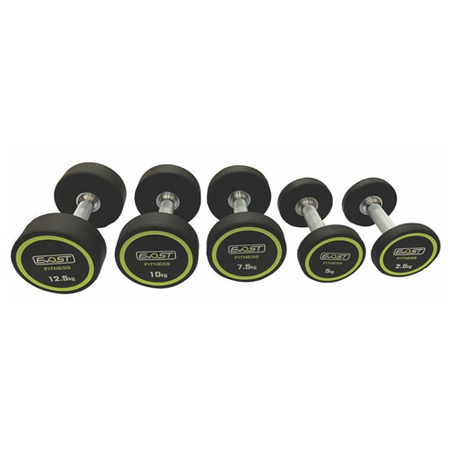 TPU Dumbbells Fitness Equipments / Gym Strength Machines
