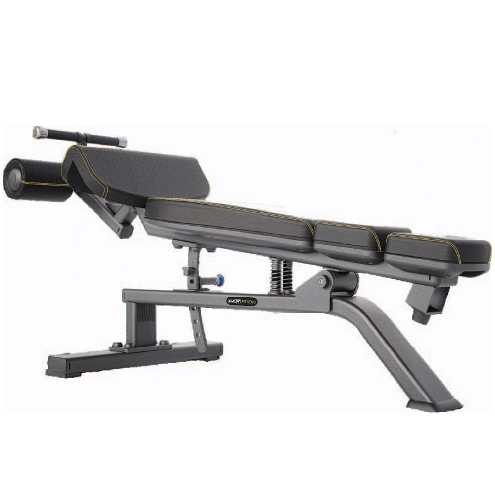 Adjustable Decline Bench Fitness Equipments / Gym Strength Machines