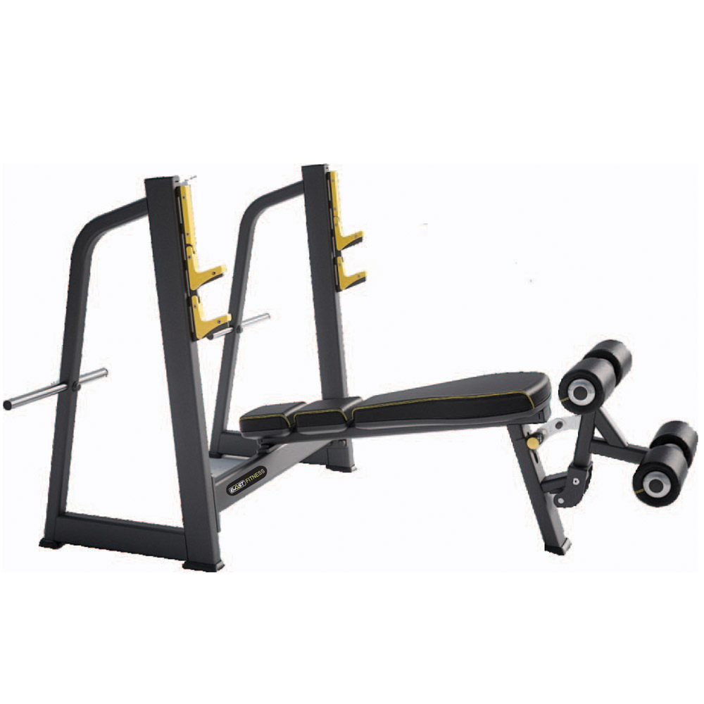 Olympic Decline Fitness Equipments / Gym Strength Machines