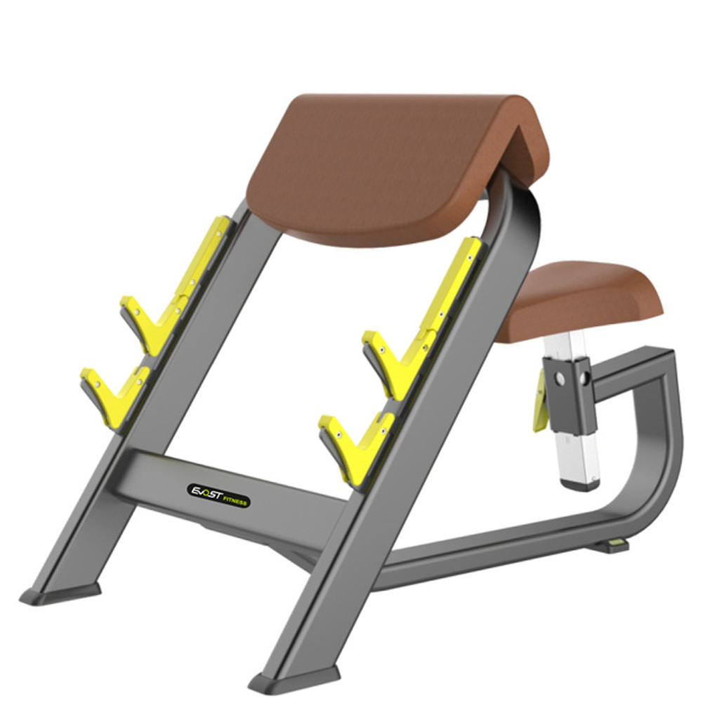 Seated Preacher Curl Fitness Equipments / Gym Strength Machines