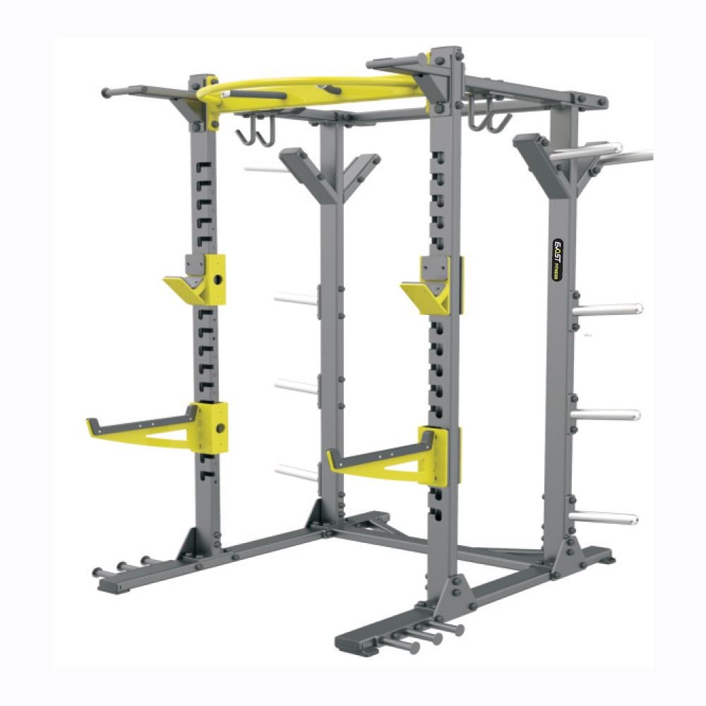 Half Rack Fitness Equipments / Gym Strength Machines