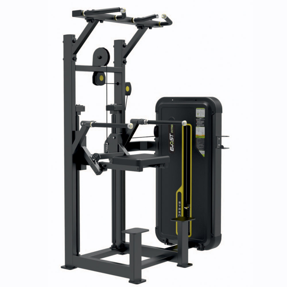 Dip / Chin Assist Fitness Equipments / Gym Strength Machines