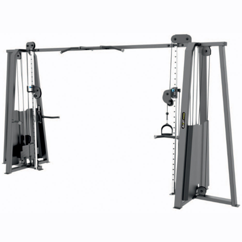 Adjustable Crossover Fitness Equipments / Gym Strength Machines