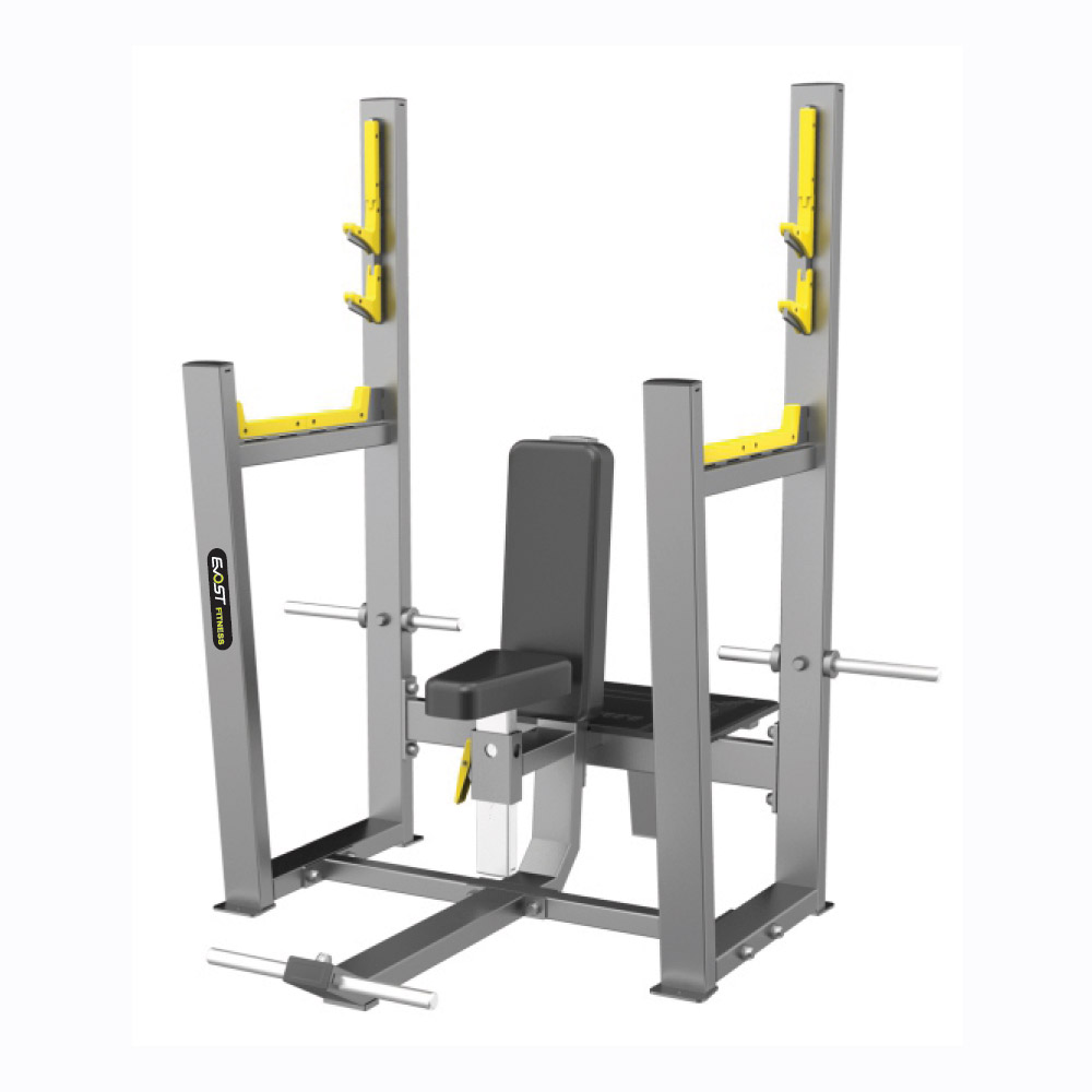 Olympic Seated Bench Fitness Equipments / Gym Strength Machines