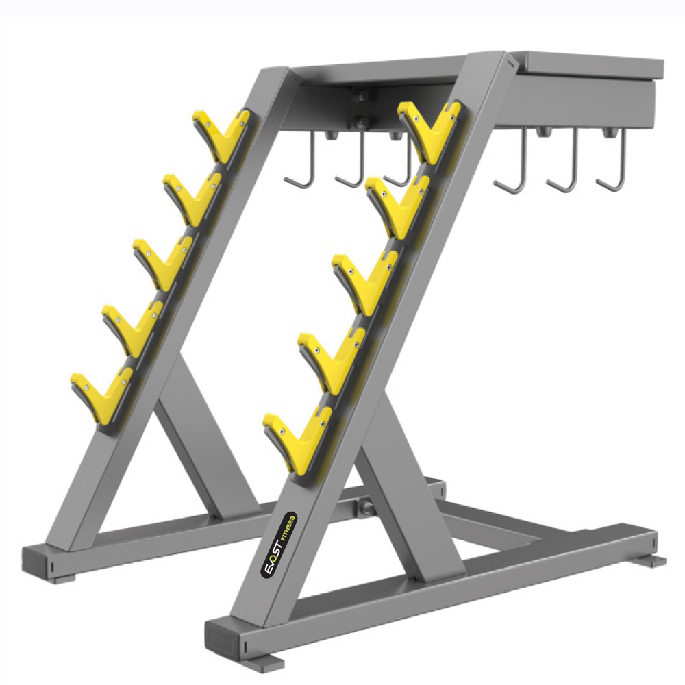 Handle Rack Fitness Equipments / Gym Strength Machines